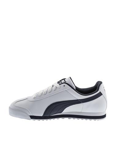 Puma Erkek Beyaz Roma Basic Sneakers 353572 Beyaz